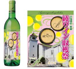 綾ワイン収穫 ナイヤガラ